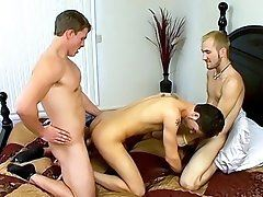 An Accidental Threesome! - Jacob Wright, Marcus Mojo And Turk Mason - Young Gay Boys