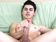 Solo Boy Alex Aria - Sexy young boy Alex Aria is a real bottom, with a tight ass we would all love to fuck