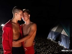 Helix Studios - Flirting With Fire - Helix Studios presents cute boys Noah White and Sean Ford in Lifeguards: Flirting With Fire